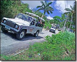 Island Safari Barbados Jeep Tours