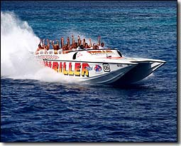 Seafari Thriller Barbados Powerboat Tours