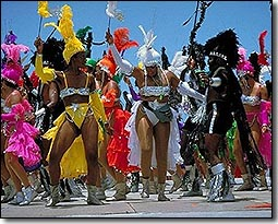 Kadooment Day Masqueraders